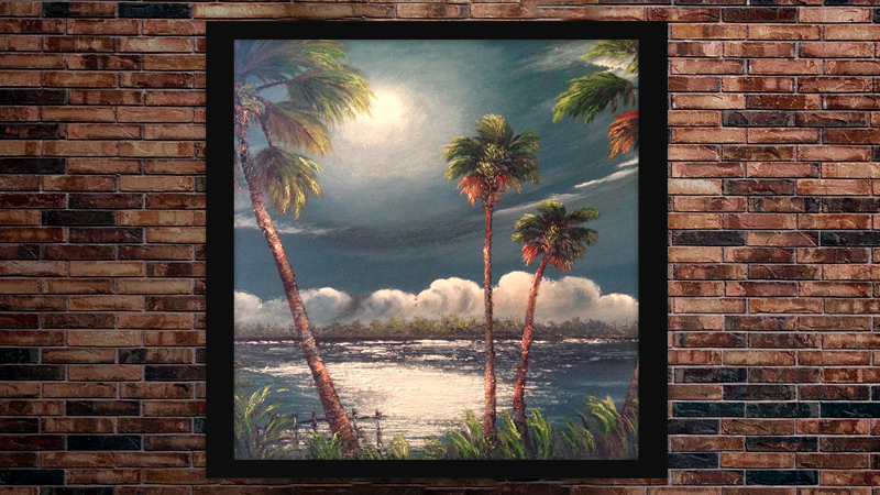 A J Brown is a member of the fort pierce Highwaymen trail