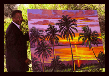 Feb 2008, Highwaymen painter James Gibson is commissioned by Governor Charlie Crist