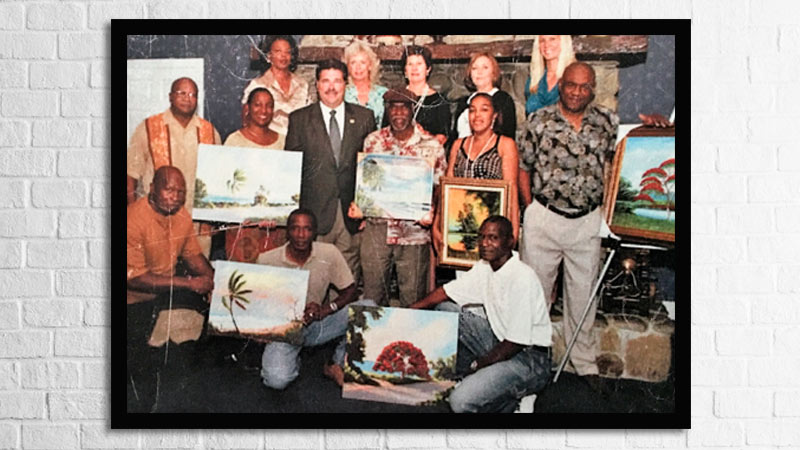 Florida humanities council and the Florida Highwaymen Artists