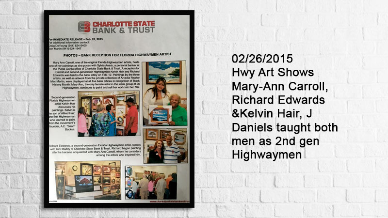 Florida Highwaymen Art Show
