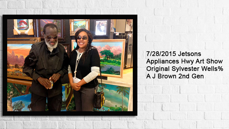 Florida Highwaymen Sylvester Wells is part of National Museum African American Cultural History