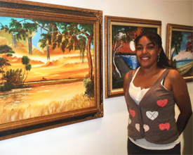 Legendary Highwaymen Art Show in Anna Maria Florida, May 2009, AJ Brown and the Original Highwaymen at The Studio at Gulf and Pine, in Anna Maria, Florida, AJ Brown and the of Johnny Daniels, Al Black, Carnell Smith, RL Lewis, Willie Reagan, Isaac Knight, Charles Walker, Jimmy-Johnny Stovall